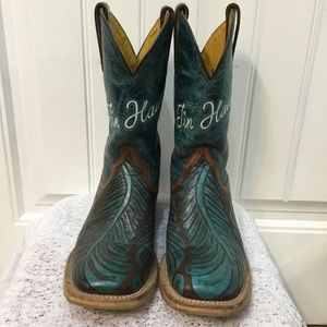 "Tin Haul ""Feathers"" Boots"